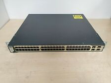 CISCO CATALYST 3750G - WS-C3750G-48PS-E -  48 Ports - IOS 15.0 IPSERVICES