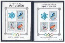 YÉMEN SUD 1983 Jeux olympiques d'hiver Sarajevo 1984