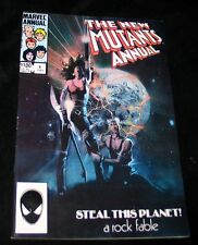 1984 Marvel THE NEW MUTANTS ANNUAL #1 VF+