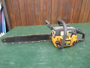 """Vintage POULAN PRO PP4620AVX 46CC Chainsaw Chain Saw with 19"""" Bar Log Spike"""