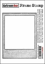 NEW Darkroom Door Rubber Frame Stamp Polaroid