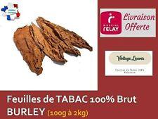 Feuilles de TABAC BURLEY