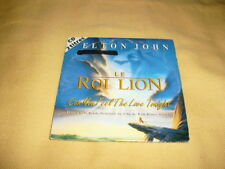 Elton John – Can You Feel The Love Tonight CD Single (Disney Le Roi Lion)