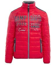 Camp David ® Quilted jacket with tapes and artwork