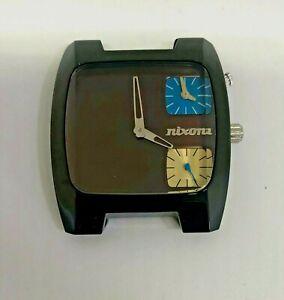 Nixon  The Banks Quartz Black case- Brown dial (HEAD ONLY)