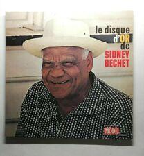 Ref1983 Vinyle 33 Tours  / le disque d'or de Sidney Bechet