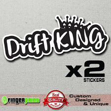 DRIFT KING jdm decal sticker vinyl nissan sx ae86 stance illest low turbo nissan