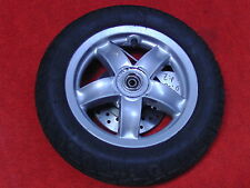 Vorderrad Felge silber vorne Piaggio Zip II 50 C25 2-/4 -Takt ab 2000 E 10x2.15