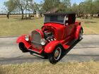 1929 Ford Model A All steel 29 roadster 350 auto jag rear 1929 Ford Model A Pickup All steel 29 roadster 350 auto jag rear 561 Miles Red C