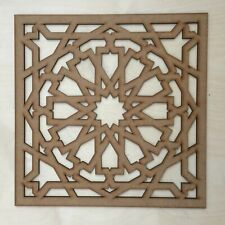 Radiator Cabinet Decorative Screening Square Radiator Grille MDF 3mm and 6mm P68
