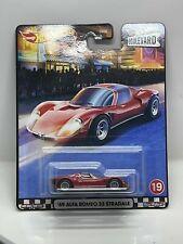 Hot Wheels premium Boulevard 69 Alfa Romeo 33 Stradale