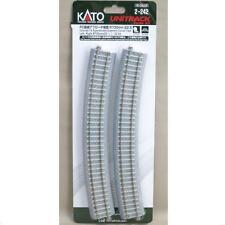 Kato 2-242 Rail Courbe / Curve Track Concrete Tie Easment R730 22.5° 2pcs - HO