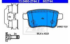 ATE Juego de pastillas freno para RENAULT KANGOO VW PASSAT 13.0460-2744.2