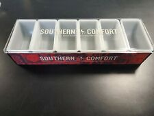 Southern Comfort Bar Top Garnish Center 6 Condiment Dispenser Brand New