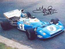 Jean-Pierre Beltoise, French F1 driver, Matra, signed 5x4 inch photo. COA.