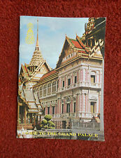 Vintage Grand Palace in Bangkok Thailand Travel Brochure 16 Pages