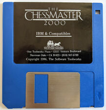 "1986 The Chessmaster 2000 Game for PC on 3.5"" Floppy Diskette"