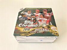 Topps Chrome Baseball Update Mega Box Trading Card - 2018