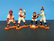 Vintage 1984  Bakery Crafts Figures Baseball Players Cake Toppers Decorations