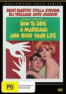 How To Save A Marriage And Ruin Your Life (DVD, 2018)