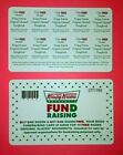 KRISPY KREME Fundraising BOGO Cards **BUY 1 & GET1 Dozen** 10 OFFERS PER CARD * For Sale