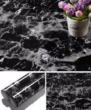 Yancorp Black Marble Contact Paper Granite Wallpaper Self Adhesive Counter