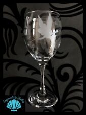 Disney Tinkerbell Wine Glass Gift Birthday Wedding Hen Party Valentines Xmas