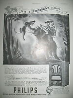 Publicite de Prensa Philips T. S. F.Multi-Inductance 535 French Publicidad 1935