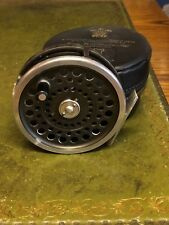 Vintage Hardy Marquis Number 10 Sea Trout Fly Reel with Case