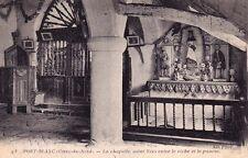 PORT-BLANC 93 la chapelle saint yves entre le riche et le pauvre