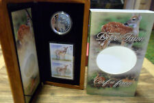 White-tailed Deer Stamp & Coin Fine Silver