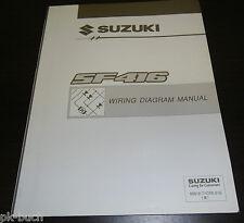Werkstatthandbuch Wiring Diagram Manual Elektrik Suzuki Swift SF 416 06/1993