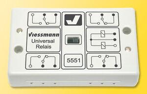 Viessmann 5551 Universal Relay 1x4UM