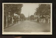 Northants KETTERING Station Road RP PPC 1920