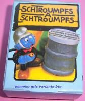 40216 schtroumpf pompier schtroumpfette puffi pitufo smurf puffo T.Rare BOITE