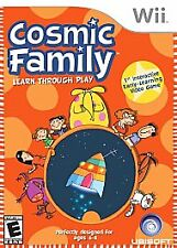 Cosmic Family - Nintendo Wii Nintendo Wii,nintendo_wii Video Games