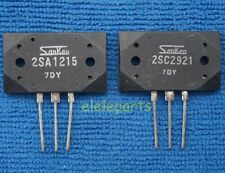 1pair(2pcs) of 2SA1215 & 2SC2921 SANKEN Audio GP Transistor