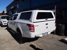 Mitsubishi Triton Canopy MQ Dual Cab Ute Canopy 2015 – CURRENT sliding windows