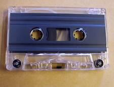 Leerkassette transparent zB Musik Hörspiele Kassetten 2 x 30 min 60 Minuten Neu