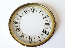 Brass Clock Bezel and Glass 113mm Roman Dial German Made Quality