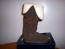 """EMU Australia """"Bronte XTF"""" Extra Tall Boots.....Chocolate Brown Size 8, NWT"""