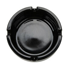 Black Glass Small Ashtray