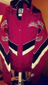 Phoenix Cardinals Throwback Windbreaker Parka Starter Jacket XL New! Arizona