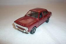 Polistil - Vintage Metal Model - Ford Escort - (Poli 27)