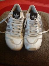 Adidas ZX750 White With Grey Stripe Size 8 In Ok Condition