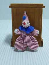 Dolls House 1:12 Scale Clown Toy Poseable  - Nursery Toy
