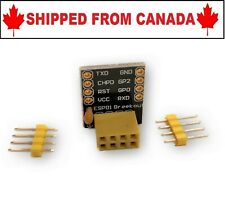 ESP-01 Breakout Breadboard Adaptor For ESP8266 - Shipped From Canada