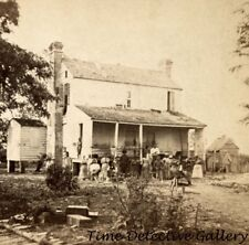 African American Freed Slaves on Chapli Plantation - 1865 - Historic Photo Print