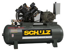 Schulz Air Compressor 20HP, 80 CFM 175 PSI 120 GALLON- NEW 3ph