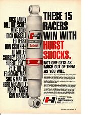 1970 HURST HI-PERFORMANCE SHOCK  ~  NICE ORIGINAL PRINT AD